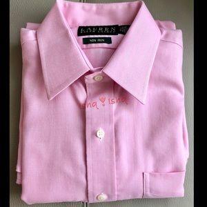 Lauren Ralph Lauren Non Iron L/S Dress Shirt 15.5